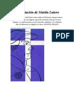 La Invitación de Martín Lutero