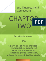 Chaptor 2 History and Development of Corrections