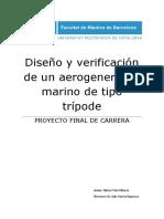 Diseño y verificación de un aerogenerador marino de tipo trípode.pdf
