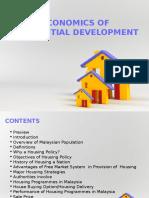 3.Economics of Residential Development