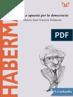 Habermas - Maria Jose Guerra Palmero