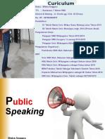 Materi Public Speaking IAI