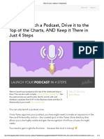 How to Launch a Podcast _ 4-Step Process