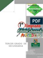 Cuadernillo de Noveno Grado Para La Primera Olimpiada de Las Matemáticas (1)