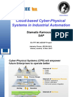 Cloud-based Cyber-Physical Systems in Industrial Automation