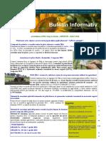Buletin Informativ Al APIA Gorj Nr. 4 Din Aprilie 2016