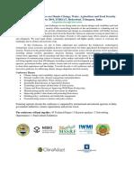 International Conference on Climate Change_Nov 2-3, 2016