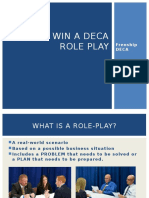 deca role play tips for site