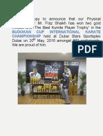 Budokan Cup International Karate Championship