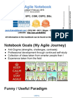 Jack's Agile Notebook - Google Slides