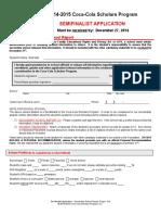 2015 SF Secondary School Report
