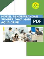 Tugas Model Pengembangan SDM AQUA