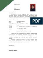 Surat Lamaran Pt. Miwon Indonesia