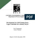 10. Cammarata L & Yliniemi L (1999) Development of a Self-Tuning Fuzzy Logic Controller (STFLC) for a Rotary Dryer. December 1999.pdf