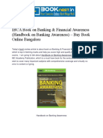 IBCA Book on Banking & Financial Awareness (Handbook on Banking Awareness) – Buy Book Online Bangalore