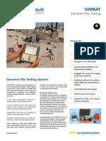 Equipment Datasheet  SIMBAT