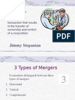 Basic of Mergers | Type of Mergers by Jim Stepanian