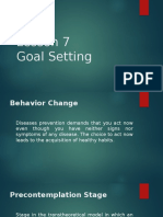 Lesson 7 Goal Setting