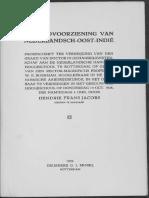 De geldvoorziening van Nederlandsch-Oost-Indië / door Hendrik Frans Jacobs