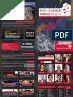 Aegis Data Science Congress 2017 Brochure