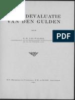 Naar devaluatie van den gulden / door E.D. van Walree