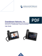 Gxv3275 User Guide