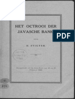Het octrooi der Javasche Bank / door D. Stigter.