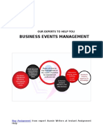 Business Events Management