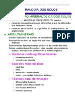 Mecc3a2nica Dos Solos Mineralogia Dos Solos
