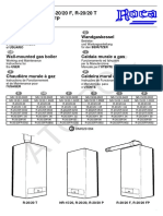 Manual Instrucciones Nr 15 20 r 20 20 f t p Fp