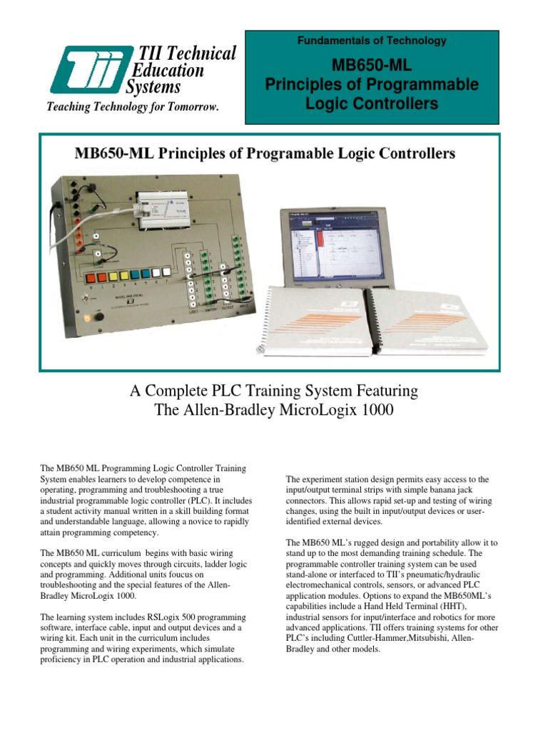 Colorful Allen Bradley Micrologix 1000 Festooning - Wiring Diagram ...