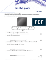 Prac Exam Style Paper 3