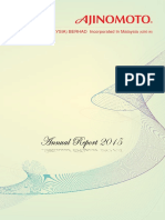 Annualreport2015 AJINOMOTO