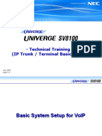 [7] SV8100 Training (VoIP) (Issue 1-4)