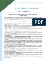 Arrêté Ministère Agriculture Grippe Aviaire