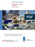 Mexico Country Case Study Report How Law and Regulation Supports Drr