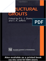 Structural Grouts