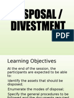 3-Disposal & Divestment