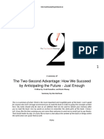 The Two Second Advantage by Ranadive Maney