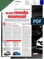 """NOVO RENAULT CLIO TCe 120 GT LINE NA """"CARROS & MOTORES"""""""