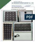 Mono Solar Panel