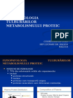 Curs 4 Metabolism Proteic