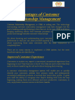 Advantages of CRM.pdf