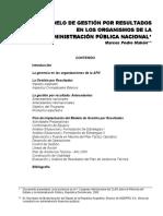 MAKON, Marcos - El modelo de gestin por resultados.pdf