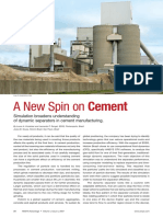 A New Spin on Cement