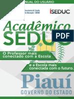 2 - Manual do Usuário - ISEDUC - ACADÊMICO - Secretaria On-Line.pdf