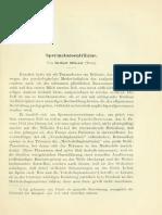 Silberer, Herbert - Spermatozoentraume