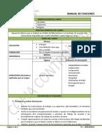 Manual de Cargos Ayudante