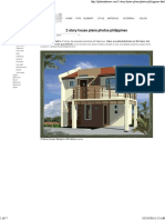 2 Story House Plans Photos Philippines
