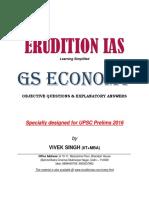 Indian Economy GS Prelims 2016